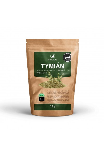 Allnature Tymián drvený BIO 15 g 15 g