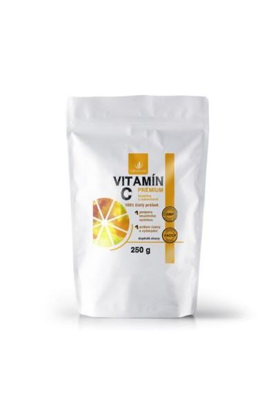 Allnature Vitamín C prášok Premium 250 g 250 g
