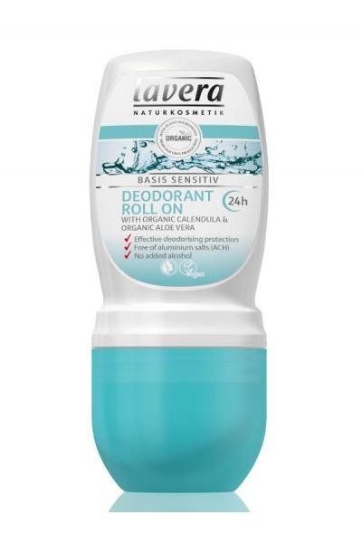 Lavera  Guličkový dezodorant Basis Sensitiv 50 ml