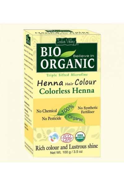 Indus Valley Henna farba na vlasy Bezfarebná 100 g