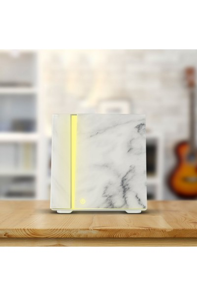 Ecohead Difúzer so zvlhčovačom vzduchu 200 ml white marble grain 200ml White