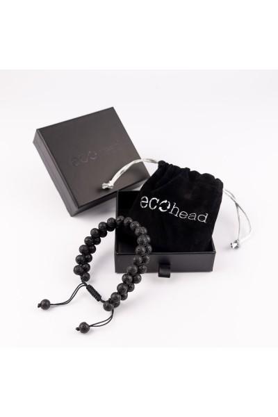 Ecohead Náramok - Double Dark s krabičkou gift box