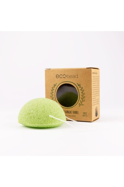 Ecohead Konjac Hubka - green Green