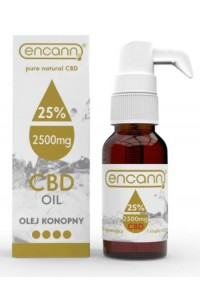 Encann CBD konopný olej 25% full spectrum 10 ml