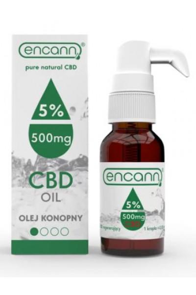 Encann CBD konopný olej 5% full spectrum 10 ml