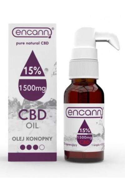 Encann CBD konopný olej 15% full spectrum 10 ml
