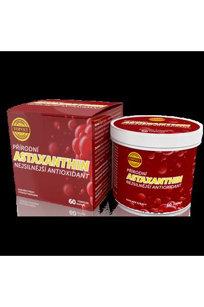 TOPVET Astaxantín 60 ks