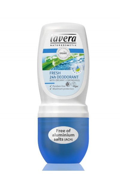 Lavera Akcia spotreba: 05/2021 Jemný Roll-on Fresh 24h 50ml 51 ml
