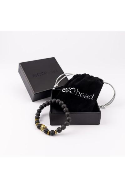 Ecohead Náramok - Golden Fox s krabičkou gift box