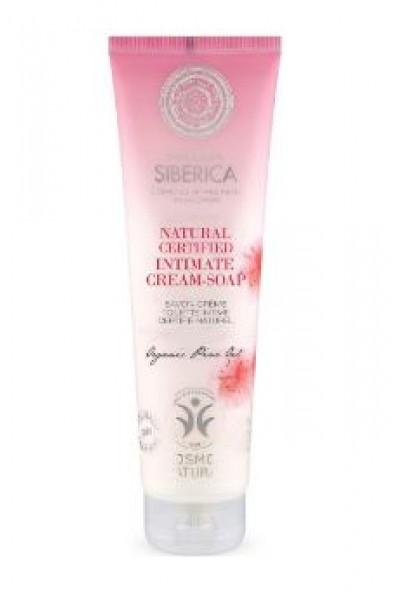 Natura Siberica Intímna starostlivosť - Prírodné intímne krémové mydlo 140 ml