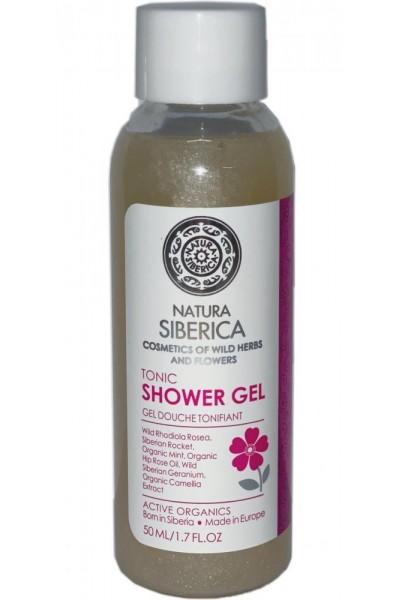 Natura Siberica Cestovné balenie - Sprchový tonizujúci gél  50 ml
