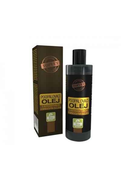 TOPVET Olej po opaľovaní s astaxantínom a mrkvovým olejom 100ml 100 ml