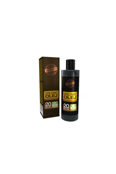 TOPVET Opaľovací olej s astaxantínom SPF20 100ml 100 ml