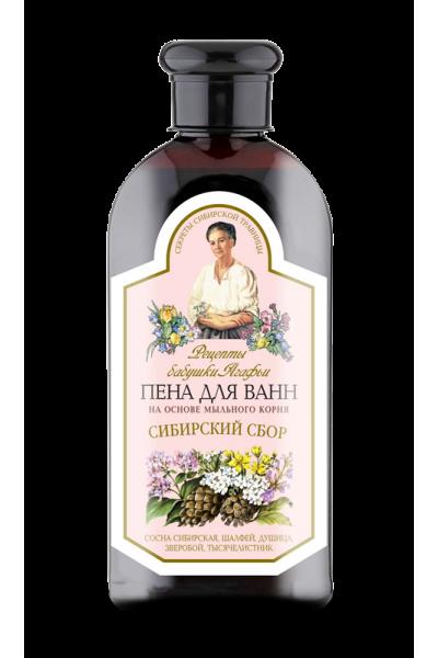 Natura Siberica Agafja Sibírska pena do kúpeľa 500 ml