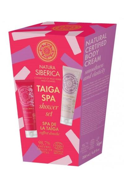 Natura Siberica Sprchový darčekový set - Taiga SPA   200 ml + 200 ml