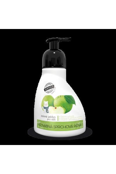 TOPVET Sprchová pena - zelené jablko - vhodné pre deti 300ml 300 ml