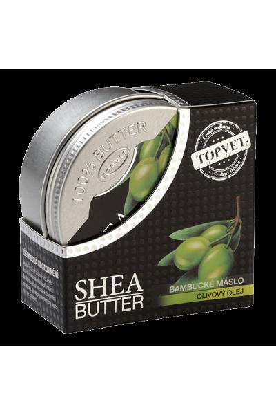TOPVET Bambucké maslo (shea butter) s olivovým olejom 100ml 100 ml