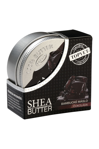 TOPVET Bambucké maslo (shea butter) s čokoládou 100ml 100 ml