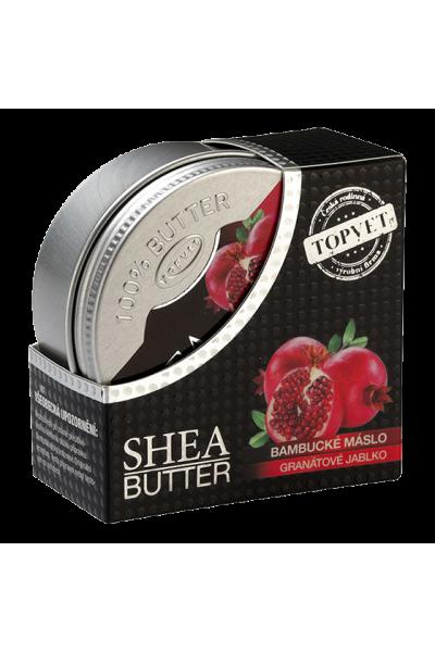 TOPVET Bambucké maslo (shea butter) s granát. jablkom 100ml 100 ml