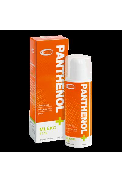 TOPVET PANTHENOL + MLIEKO 11% 200ml 200 ml