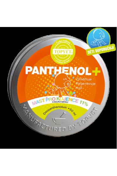TOPVET PANTHENOL + MAST PRE DOJČATÁ 11% 50ml 50 ml
