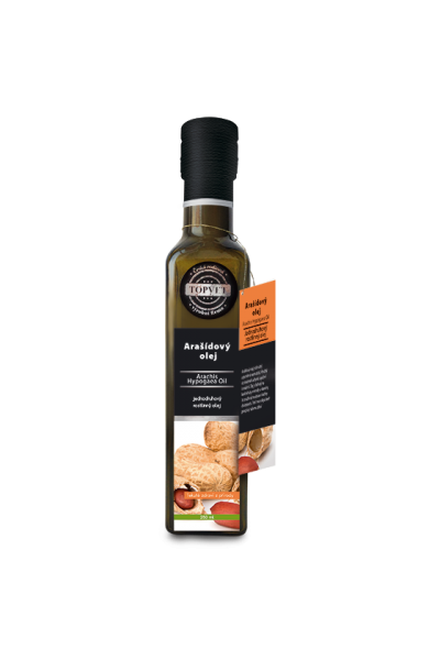 TOPVET Arašidový olej 250ml 250 ml