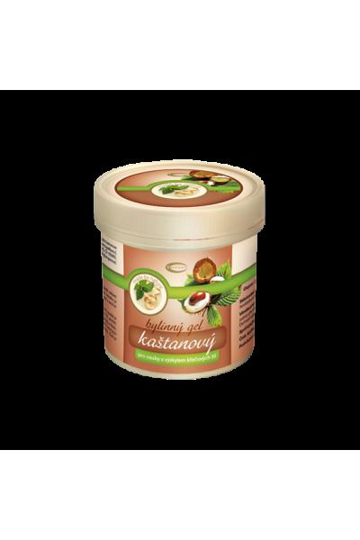 TOPVET Gaštanový masážny gél 250 ml 250 ml