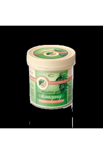 TOPVET Konopný masážny gél 250ml 250 ml