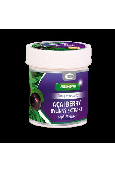 TOPVET  Acai berry bylinný extrakt 60 kps