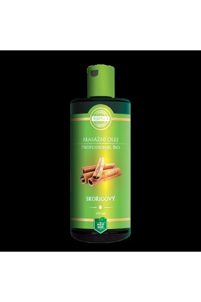 TOPVET BIO Škoricový masážny olej 200ml  200 ml