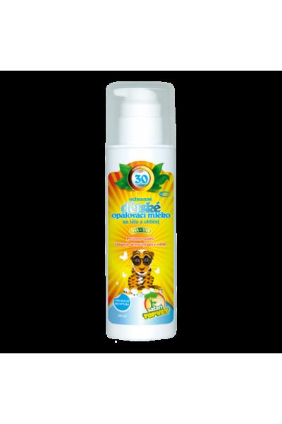 TOPVET Detské opaľovacie mlieko SPF 30 200ml 200 ml