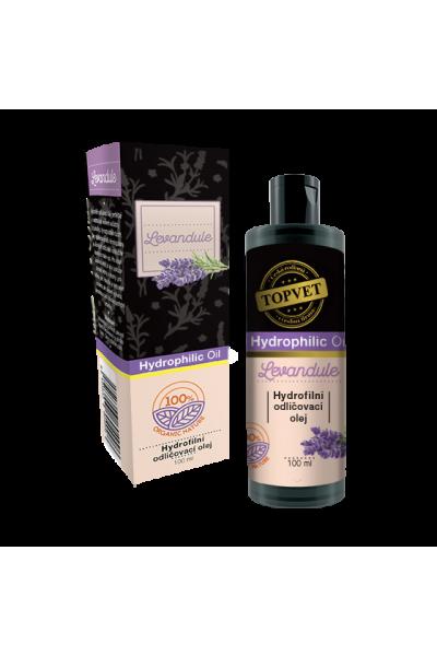 TOPVET Hydrofilný odličovací olej - Levanduľa 100ml 100 ml