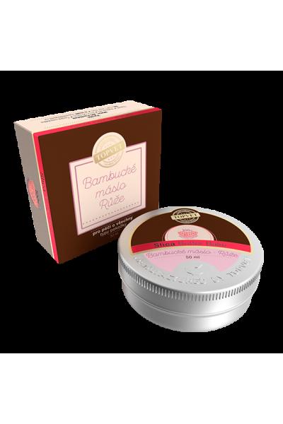 TOPVET Bambucké maslo - Ruža 50ml 50 ml
