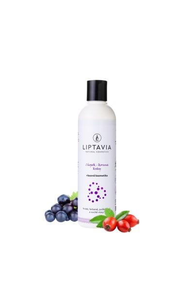 Liptavia Chopok - Koruna Krásy- šampón pre hrubé farbené poškodené vlasy 200