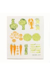 More Joy More Joy Zelenina - utierka